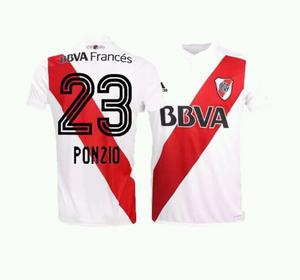Camiseta River Plate 23 Ponzio Original  Ho