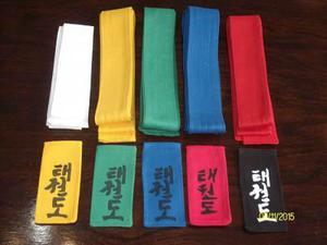 Cinturones Tae Kwon Do Y Artes Marciales