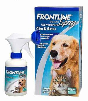 Frontline Spray Anti Pulgas Seguro Perros Y Gatos 250ml