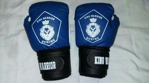 Guantes De Boxeo Kick Boxing 10/12/14/16 Oz King Warrior