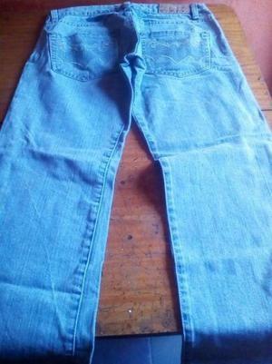 Jeans Mujer cod 10 color celeste talle 38 Unico Disponible