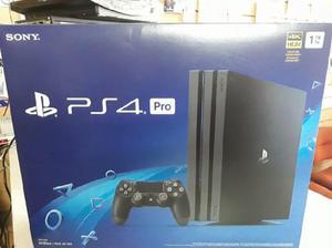 PS4 PRO 1 TB 4K SONY, NUEVA EN CAJA SELLADA, GARANTIA 6