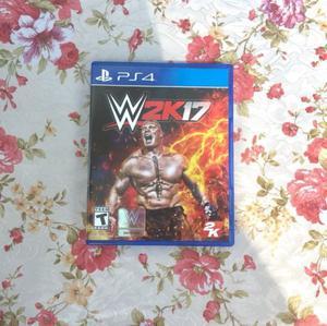 WWE 2K17 PS4 Físico Usado en perfecto estado