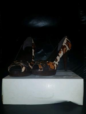 Zapatos con taco talle 38