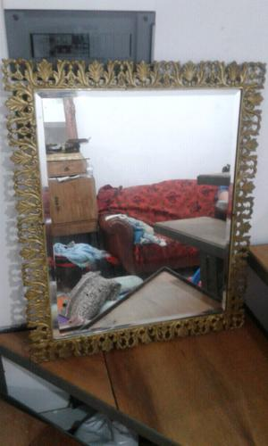 Antiguo espejo bronce