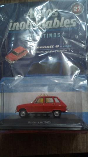 Autito de colección Renault 6