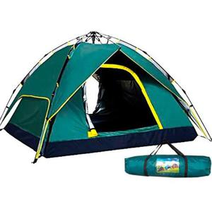 Carpa Automatica Para 4 Personas Ideal Camping Impermeable