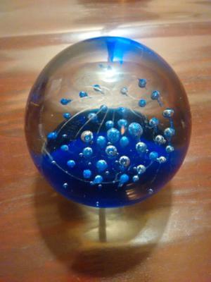 Esfera bola de vidrio macizo, nueva, 8 cm × 9m