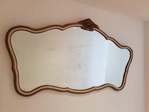 Espejo antiguo biselado estilo francés