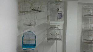 Jaula Para Aves Canarios Varios Modelos