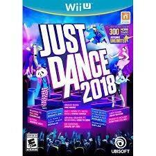 Just Dance 2018 Wii U Nuevo Original Fisico