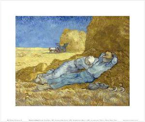 Lamina - La Siesta - Van Gogh - 60 X 55 Cm.