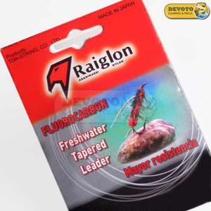 Leader Mosca Raiglon Fluorocarbonado 9 Pies 0 1 2 3 4 5 X