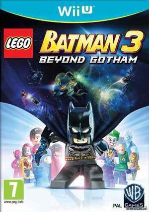 Lego Batman 3 Más Allá De Gotham Wii U Original En