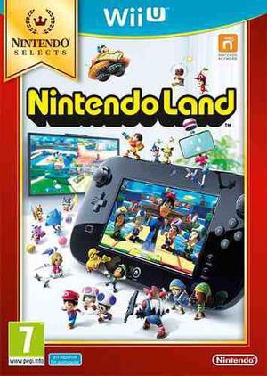 Nintendo Land Wii U Original En Caja Con Manuales En