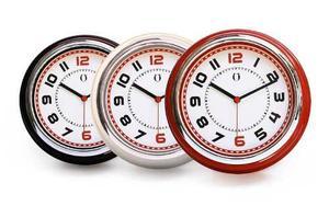 Reloj De Pared Retro Vintage Colores Varios