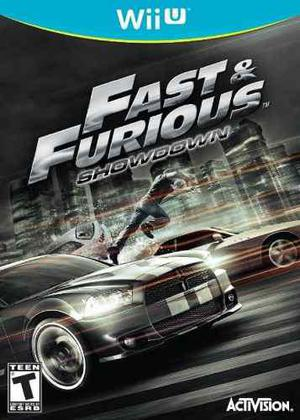 Rápido Y Furioso Fast & Furious: Showdown Wii U Original