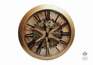 Vani #deco Reloj Gigante Para Pared Con Vidrio Antiquë