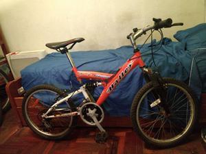 bicicleta rodado 16 con cambios y suspension