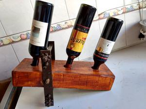 exhibidor de botellas de vino