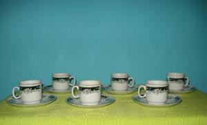 juego de cafe de porcelana china. hermoso