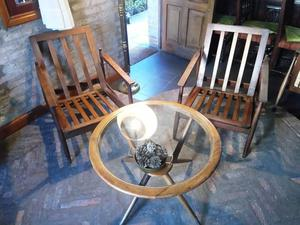 par de sillones escandinavos
