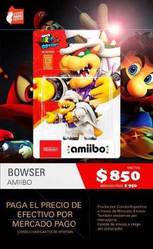 Amiibo Super Mario Odyssey - Nintendo Switch