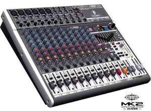 Behringer Xenyx X-usb Consola Mixer Con Efectos Oferta!!