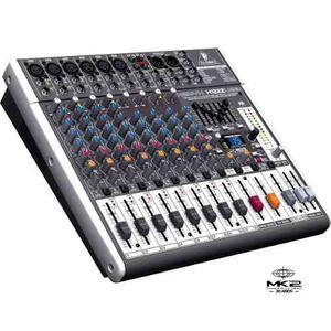 Behringer Xenyx X-usb Consola Mixer Multi Fx En Oferta