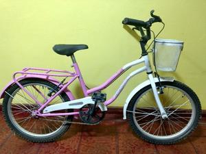 Bicicleta de niña rodado 20