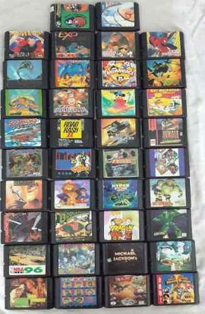 Cartuchos De Juegos Para Consolas Sega X 1u.