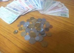 Coleccion de Billetes Y Monedas Antiguas