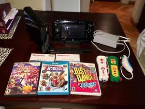 Consola Nintendo Wii U (excelente Estado) + 5 Juegos.