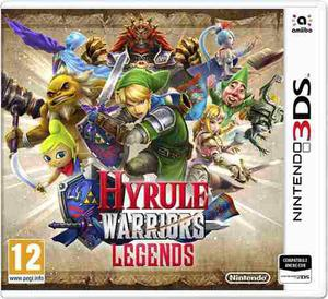 Legend Of Zelda: Hyrule Warriors Legends Nintendo 3ds Pal