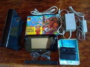 Nintendo Wii U 32gb + 2 Juegos Originales Y Mario Kart 8