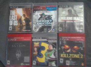 PS3 WALKING DEAD KILLZONE2 TOY STORS SKIRIM GHOST RECON LAST