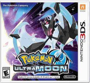 Pokemon Ultra Moon Luna | Nintendo 3ds Capital Y Zona Oeste