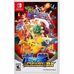 Pokken Tournament Dx Nintendo Switch Fisico - Ikkigames