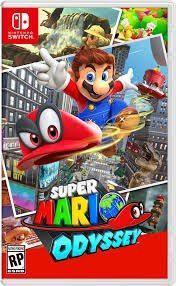 Super Mario Odyssey Nintendo Switch Fisico - Solo Ikkigames