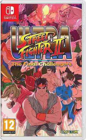 Ultra Street Fighter 2 Nintendo Switch Fisico Nuevo Original