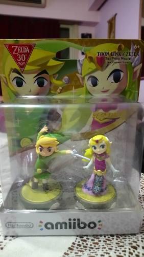 Vendo Figuras Amiibo De Zelda Para Wii Y New 3ds