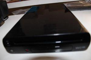 Wii U Deluxe Set 32gb Black Edition + 4 Controles + 4 Juegos