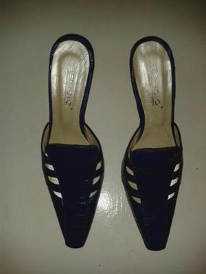 Zapatos de mujer cuero de lagarto