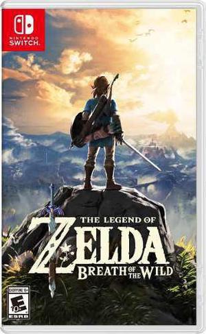 Zelda: Breath Of The Wild Nintendo Switch Solo En Ikkigames