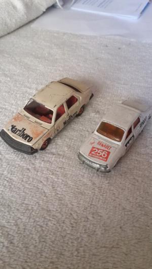Autos de colección Buby Renault 12 y 18