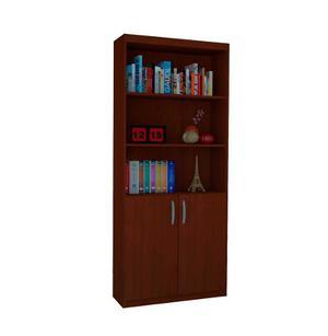 Biblioteca Con Estantes Y Puertas - Oficina - Todohogar
