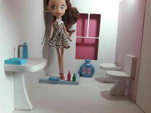 Casita para Muñecas con Muebles