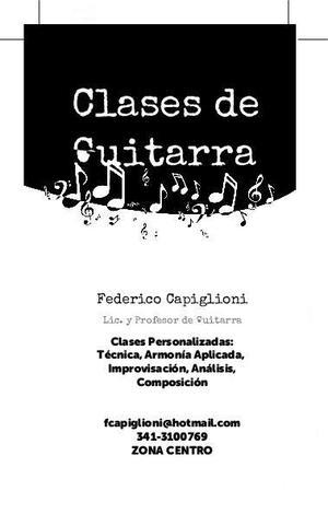 Clases de guitarra Rosario Centro