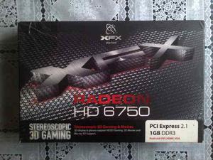 Placa De Video Ati Radeon Xfx Hd 6750 1gb Ddr3 Muy Buena!!!