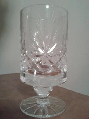 Vasos y Copas de Cristal de bohemia